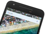 LG Nexus 5x review: earpiece grille on top