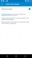 LG Nexus 5x review: Caller ID setting