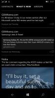 Microsoft Lumia 950 XL review: The Social page