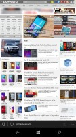 Microsoft Lumia 950 XL review: Microsoft Edge browser