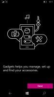 Microsoft Lumia 950 XL review: Gadgets app