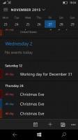 Microsoft Lumia 950 review: Calendar
