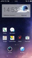 The homescreen - Oppo R7s review