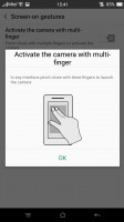 Screen-on gestures - Oppo R7s review