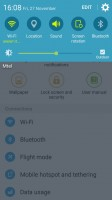 Samsung Galaxy J2 review: changing the brightness