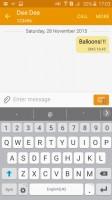 Samsung Galaxy J2 review: The Samsung keyboard