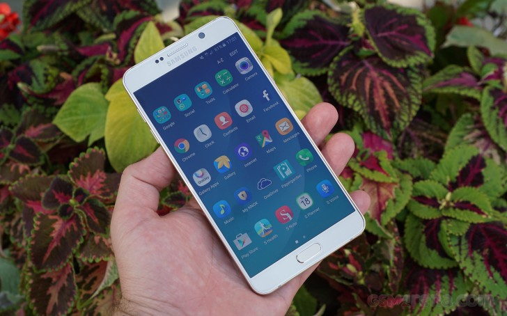Samsung Galaxy Note5 time-saver review
