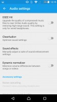 Sony Xperia Z5 Premium review: Sound settings