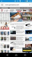 Sony Xperia Z5 Premium review: Google Chrome