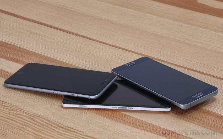 iPhone 6s Plus vs. Lumia 950 XL vs. Galaxy Note5