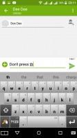 Short messages - Acer Liquid X2 review