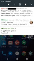 Bundled notifications - Android 70 Nougat review