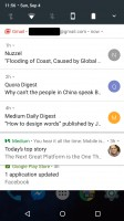 Semi-unbundled - Android 70 Nougat review