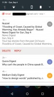 Unbundled notification - Android 70 Nougat review