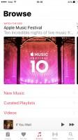 Music app - Apple iPhone 7 Plus review