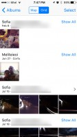 Places grid view - Apple iPhone 7 Plus review