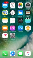 The homescreen - Apple iPhone 7 review