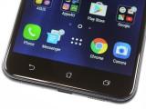 The capacitive keys below the display lack backlighting - Asus Zenfone 3 ZE552KL review