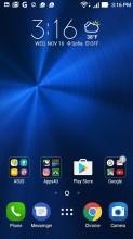 Homescreen - Asus Zenfone 3 ZE552KL review
