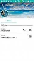 Contact editing - Asus Zenfone Max ZC550KL review