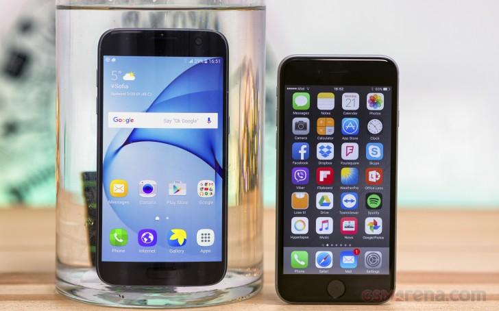 Galaxy S7 vs. iPhone 6s