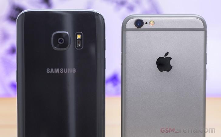 pretty nice b96c5 e1bee Samsung Galaxy S7 vs. Apple iPhone 6s: Sixes and sevens: Camera