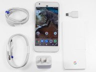 Google Pixel package contents (US) - Google Pixel review