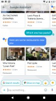 Asking the assistant: about nearby restaurants - Google Pixel review