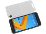 HTC Ice View case in action - HTC 10 Review review