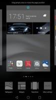 Homescreen options - Huawei Mate 8 review