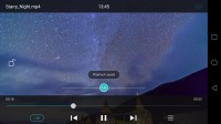 Simplistic video player with few options - Huawei Mate 8 review