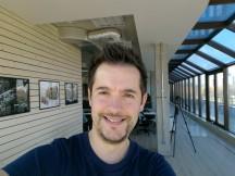 Selfie samples: beautification off - Huawei Mate 9 review