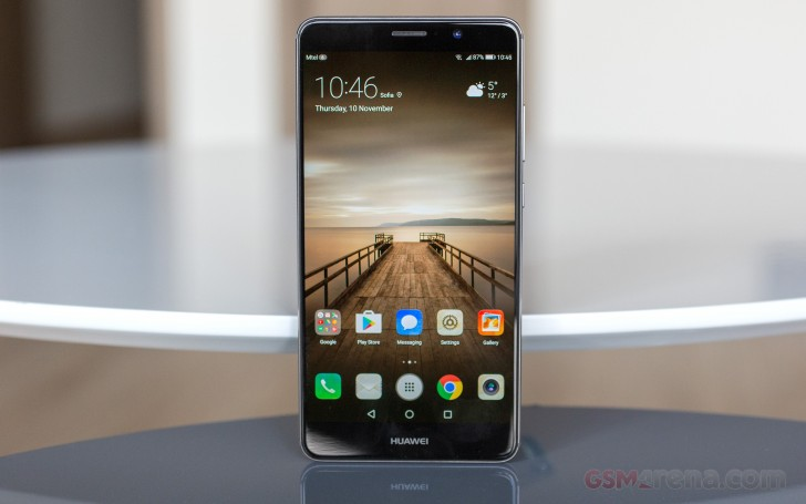 Huawei Mate 9 Review Mighty Mate User Interface
