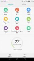 File manager - Huawei Nova Plus review