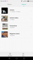 Album view - Huawei Nova Plus review