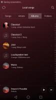 The music player - Huawei Nova Plus review