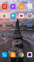 apps-only homescreen - Huawei nova review