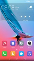 applying a new theme - Huawei nova review