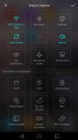 toggles rearrangement - Huawei nova review