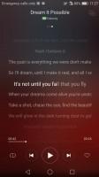 The music player - Huawei nova review