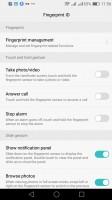 Lockscreen options - Huawei P9 lite review