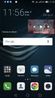 Default homescreen - Huawei P9 lite review