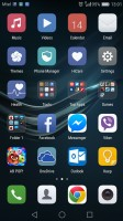 apps-only homescreen - Huawei P9 review