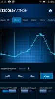 Detailed equalizer courtesy of Dolby - Lenovo Vibe K4 Note review
