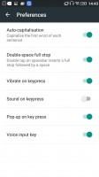 Messaging and text input - Lenovo Vibe K5 Plus review