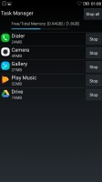 Task manager - Lenovo Vibe K5 review
