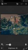 Editing an image - Lenovo Vibe K5 review