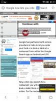 UC Browser - Lenovo Vibe K5 review