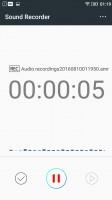 Sound recorder - Lenovo Vibe K5 review