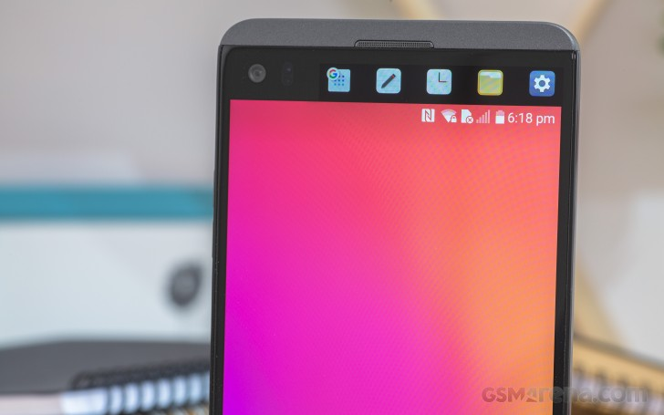 LG V20 review: Twice as bright: User interface, fingerprint